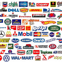 Logos of Companies in Second Life