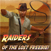 Raiders Of The Lost Freebie!