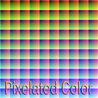 Pixelated Color
