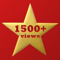 1500+ views