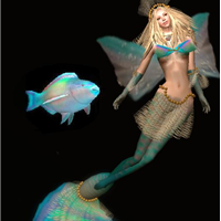 Secondlife mermaid